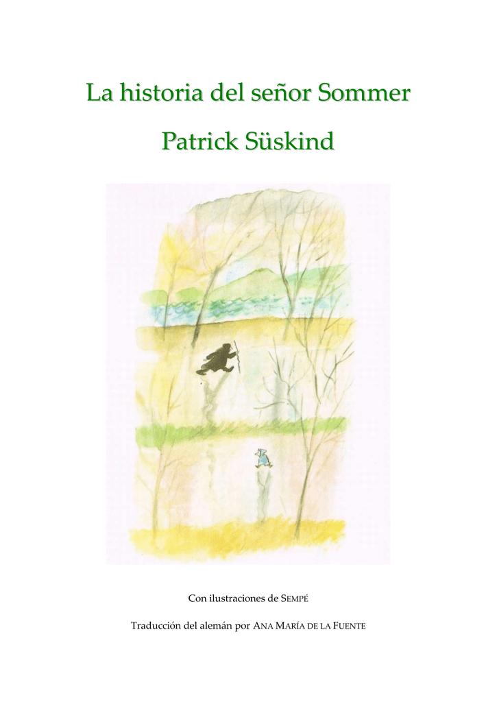 Süskind, Patrick - La historia del señor Sommer [R1]