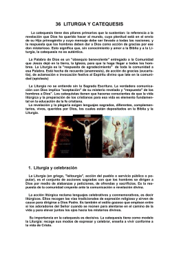 41 LITURGIA Y CATEQUESIS