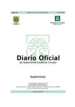 MMMMM - Gobierno del Estado de Yucatán