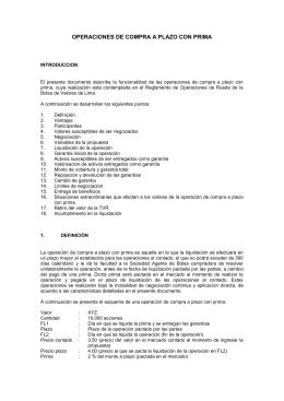 documento informativo - Bolsa de Valores de Lima