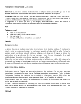 Documentos de la Iglesia