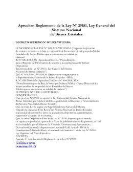 JORGE AVEDAÑO V. ABOGADOS Aprueban Reglamento de la Ley