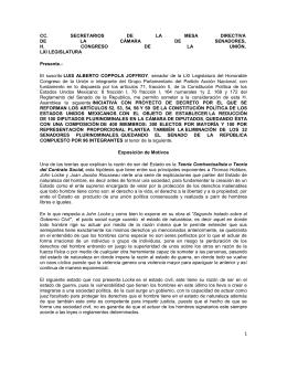 CC. SECRETARIOS DE LA MESA DIRECTIVA DE LA CÁMARA DE