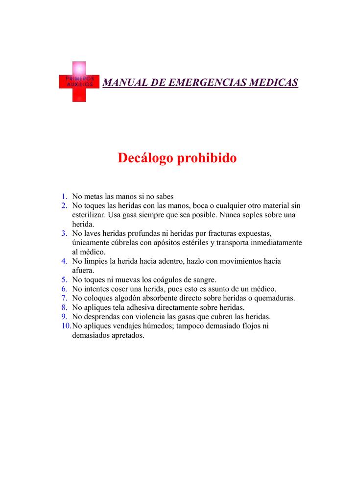 MANUAL DE EMERGENCIAS MEDICAS 6416f6c73889