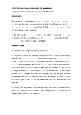 DOCUMENTO DE RESERVA DE LOCAL COMERCIAL