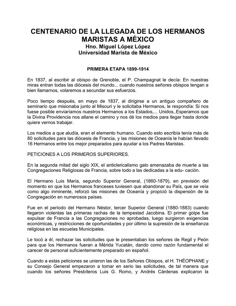 centenario de la llegada de los hermanos maristas a méxico 4ce8e029e8bd3