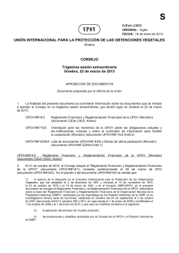 Aprobación de documentos