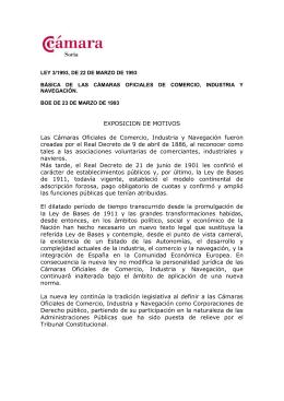 Europea de Derecho - Camara de Comercio e Industria de Soria
