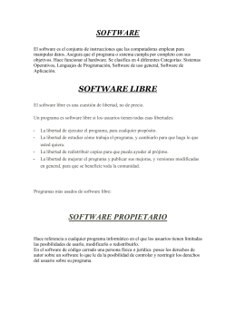 Enlace a Software