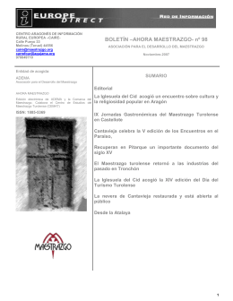 documento - Maestrazgo