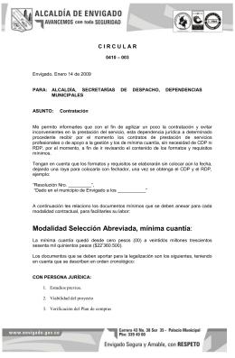 "2009 guia contrataciã""n. (menor cuantia)"
