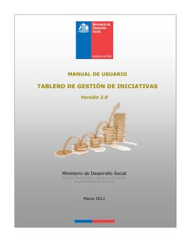 MANUAL DE USUARIO DE LA - Banco Integrado Proyectos