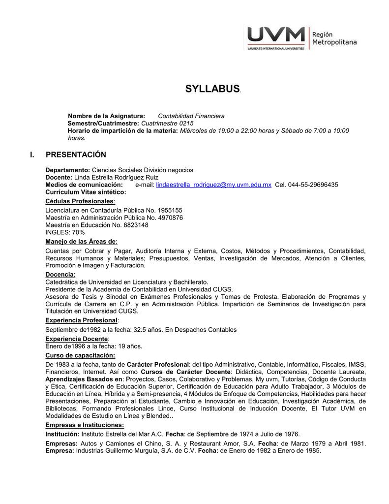 Syllabus_Materia Contabilidad Financiera