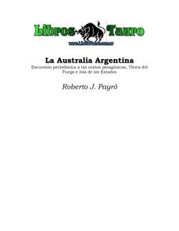 Payro, Roberto J. - La Australia Argentina