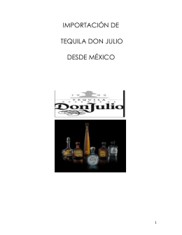 Tequila Don Julio, SA