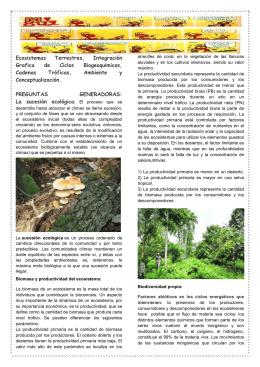 Descarga - ecosistemas, cadenas troficas, factores ecologicos