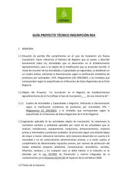 guía proyecto técnico inscripción rea