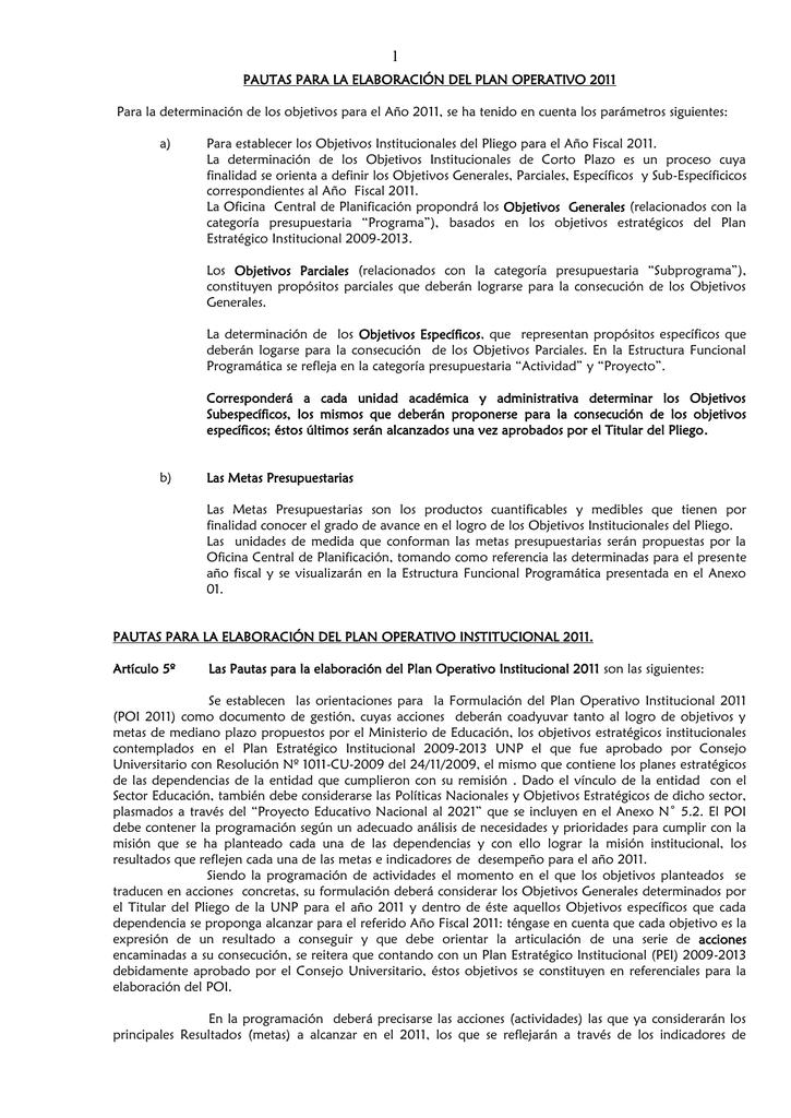 Directiva Nº 002 2006 Oppto Ocp Unp