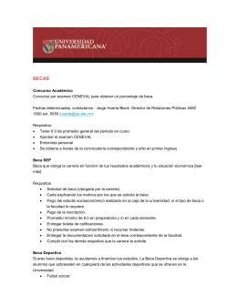 becas - Universidad Panamericana