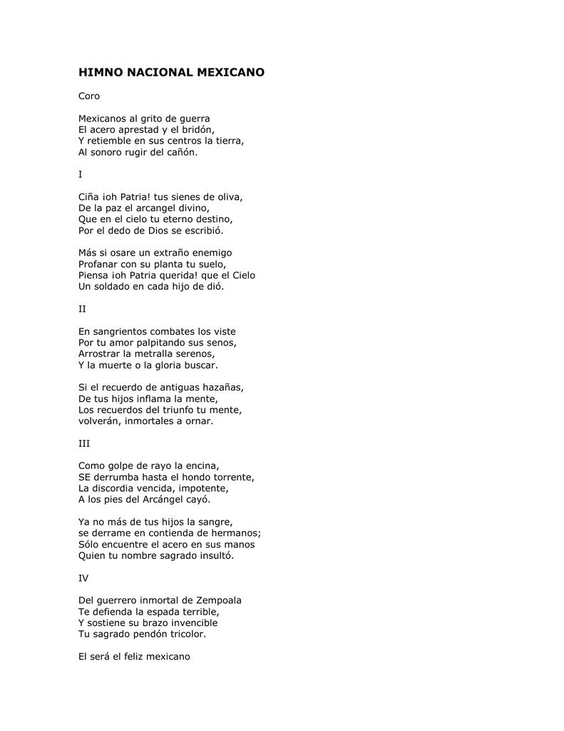 himno nacional mexicano historia y significado