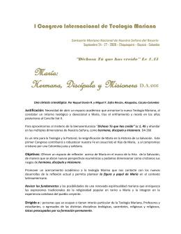 I_Congreso_internacional_Mariano