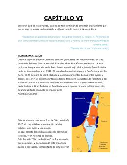 Capítulo VI – Iom Haatzmaut (shoresh 2012)