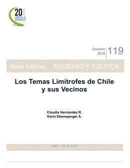 Serie Informe - Libertad y Desarrollo