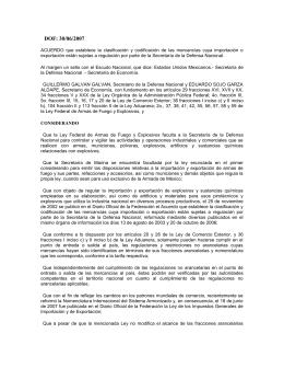 Acuerdo 30-06-2007