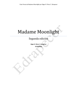 Madame Moonlight Segunda edición