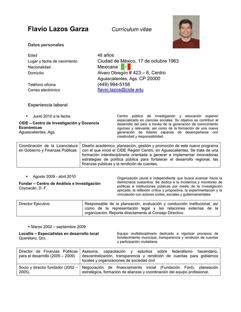 Flavio Lazos Garza - Programa Derecho a la Salud - CIDE