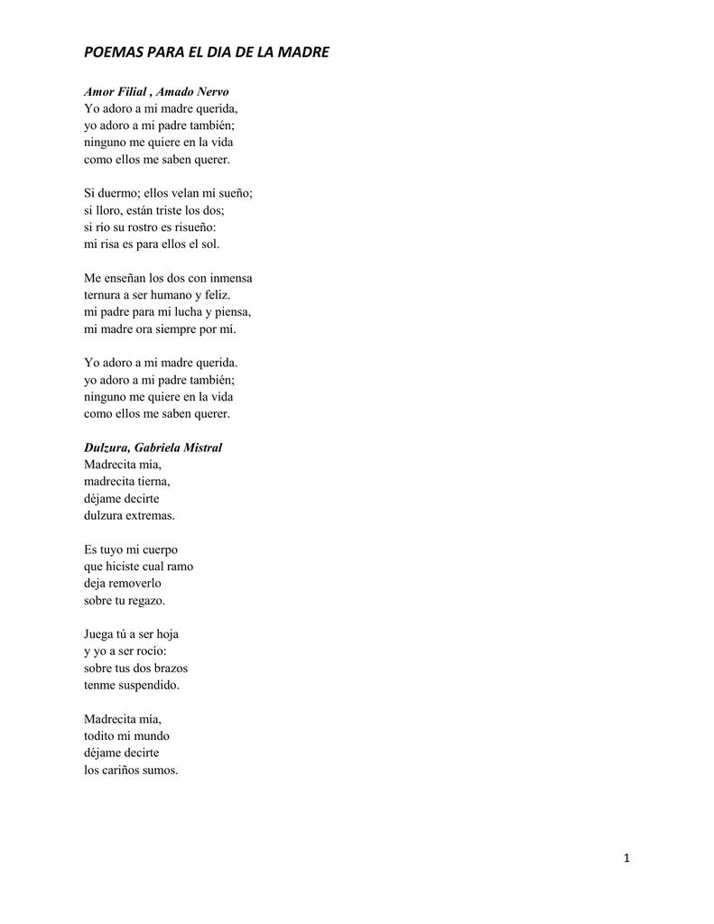Humildes Versos Para Que Descanse Mi Madre De Pablo Neruda