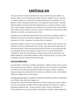 Capítulo VII – Lag Baomer (Shoresh 2012)