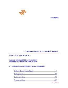 Índice de junio 2015 - Comisión Nacional de los Salarios Mínimos