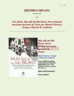 Más allá del Río Bravo: breve historia mexicana del norte de Texas