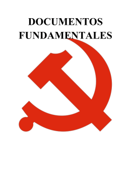 DOCUMENTOS FUNDAMENTALES
