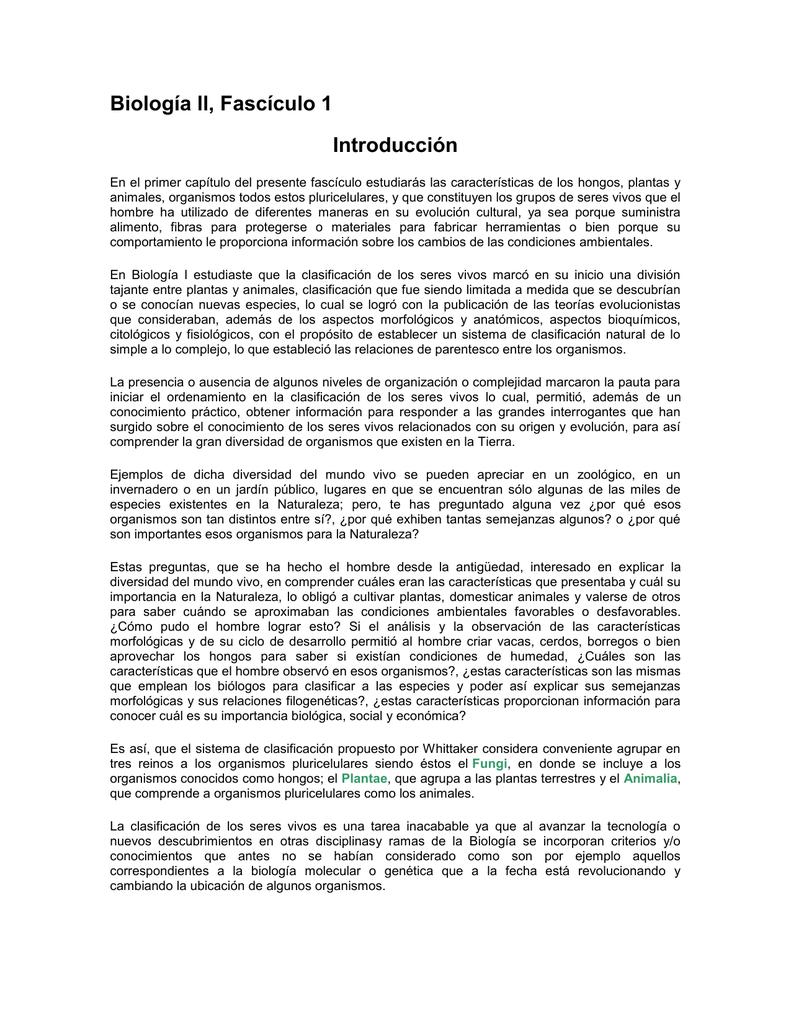 Biología ll - Sitio del grupo Web
