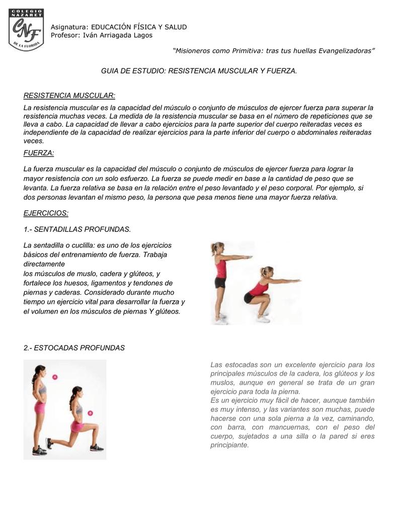 ejercicios para fuerza de piernas