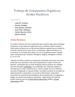 Ácidos Nucleicos - SCIENCE