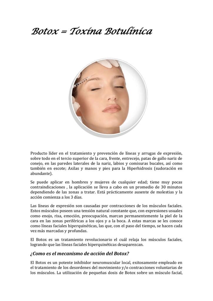 Botox = Toxina Botulínica