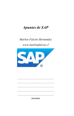 descargar - Tutorial de SAP ERP