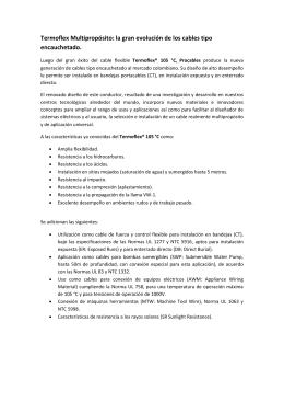 Aplicación e instalación de acuerdo con la NTC 2050
