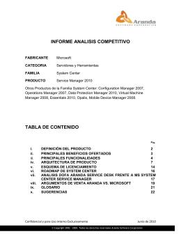 informe analisis competitivo