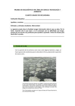 BANCO DE PREGUNTAS BIOLOGIA GRADO NOVENO 1. El