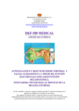 dkf-580 medical - drakefor internacional