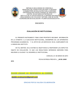 encuesta_extension - Universidad Militar Bolivariana