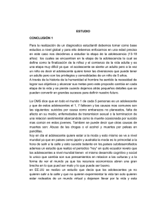 ESTUDIO CONCLUSIÓN 1