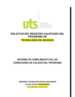 Protocolo Documento maestro - UTS