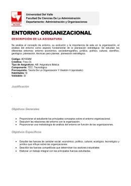 21. 801059M- ENTORNO-ORGANIZACIONAL