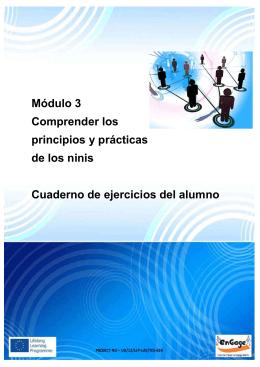 Módulo 3 Comprender los principios y prácticas de los