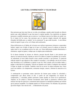 Lectura de Comp y Vel.11 May_ 17 May.13